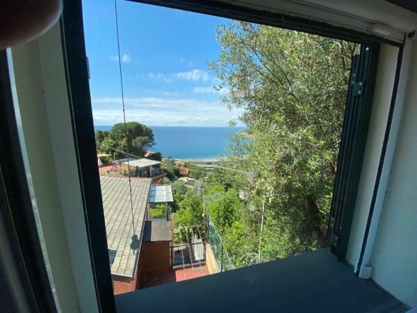 Casa indipendente in vendita a Bonassola, Fornello, Arredato, con giardino, 125 mq - Foto 24
