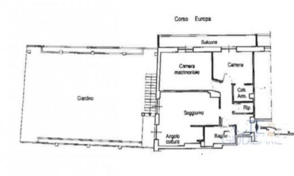 Appartamento in vendita a Genova, Sturla, Con giardino, 120 mq - Foto 3