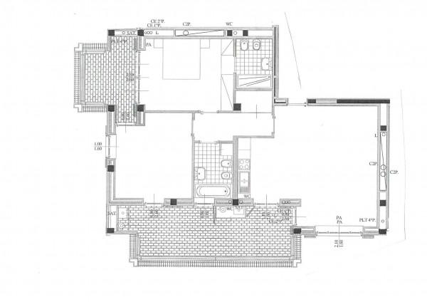 Appartamento in vendita a Peschiera Borromeo, San Bovio, Con giardino, 123 mq - Foto 2