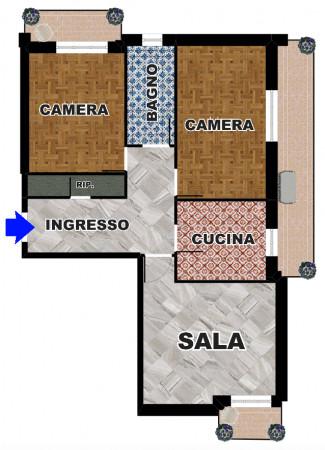 Appartamento in vendita a Chiavari, Frazione Maxena, 95 mq