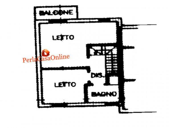 Villetta a schiera in vendita a Forlì, San Lorenzo In Noceto, Con giardino, 150 mq - Foto 4