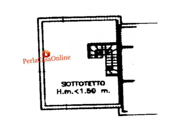 Villetta a schiera in vendita a Forlì, San Lorenzo In Noceto, Con giardino, 150 mq - Foto 3