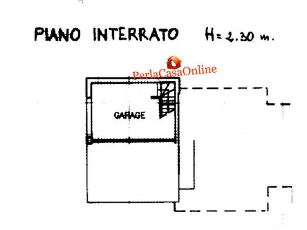 Villetta a schiera in vendita a Forlì, San Lorenzo In Noceto, Con giardino, 150 mq - Foto 2