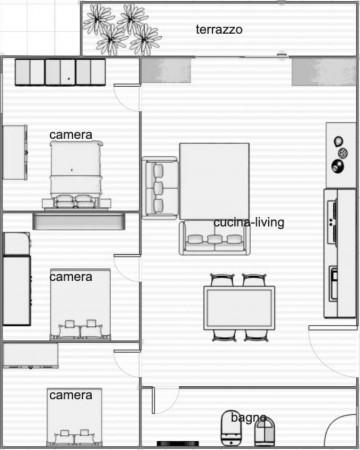 Appartamento in vendita a Napoli, Centrale, 90 mq - Foto 2