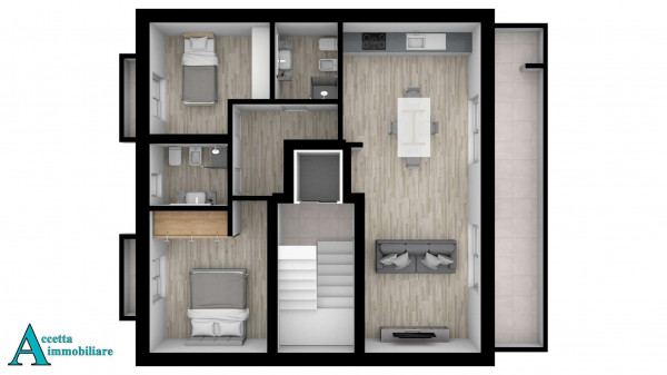 Appartamento in vendita a Taranto, Centrale, Borgo, 100 mq - Foto 4