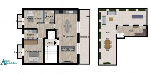 Appartamento in vendita a Taranto, Centrale, Borgo, 100 mq - Foto 2