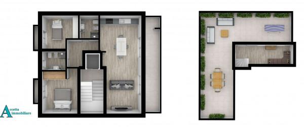 Appartamento in vendita a Taranto, Centrale, Borgo, 100 mq - Foto 5