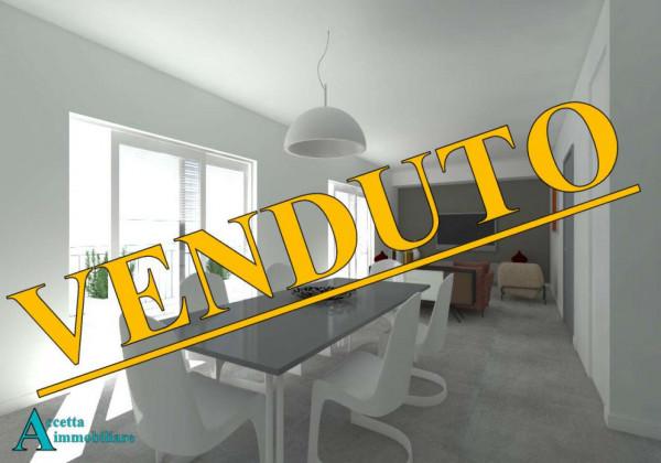 Appartamento in vendita a Taranto, Centrale, Borgo, 100 mq - Foto 1