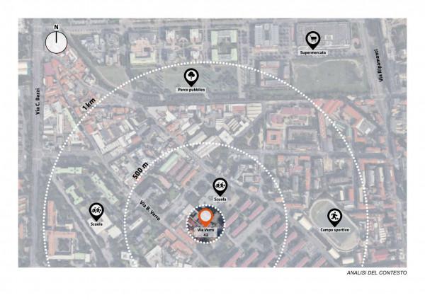 Appartamento in vendita a Milano, Via Spadolini/ Bazzi/ Bocconi, Con giardino, 66 mq - Foto 25