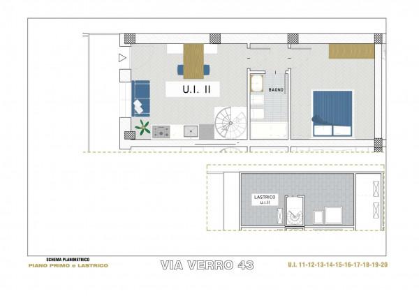 Appartamento in vendita a Milano, Via Spadolini/ Bazzi/ Bocconi, Con giardino, 66 mq - Foto 16
