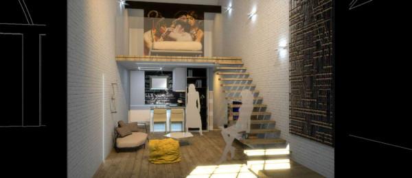 Appartamento in vendita a Milano, Via Spadolini/ Bazzi/ Bocconi, Con giardino, 58 mq