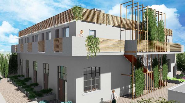 Appartamento in vendita a Milano, Via Spadolini/ Bazzi/ Bocconi, Con giardino, 54 mq - Foto 5