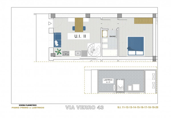 Appartamento in vendita a Milano, Via Spadolini/ Bazzi/ Bocconi, Con giardino, 54 mq - Foto 15