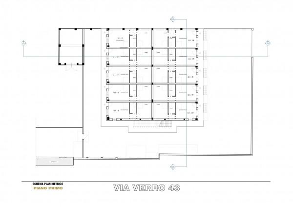Appartamento in vendita a Milano, Via Spadolini/ Bazzi/ Bocconi, Con giardino, 54 mq - Foto 12