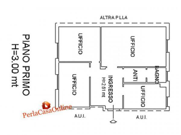 Ufficio in vendita a Forlì, Centro Storico, 90 mq - Foto 3