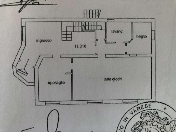 Villa in vendita a Caravate, Residenziale, Con giardino, 300 mq - Foto 5