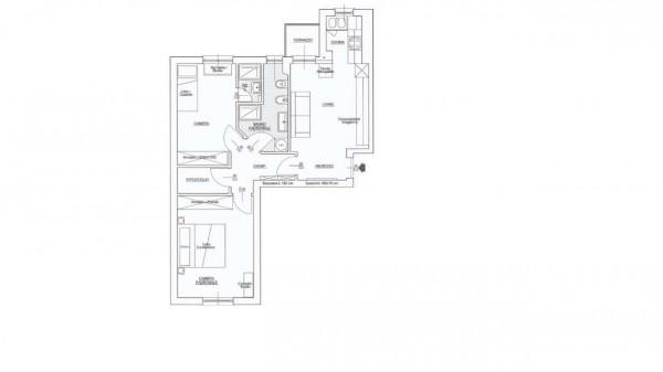 Appartamento in vendita a Milano, San Siro, 75 mq - Foto 2