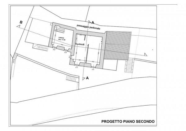 Appartamento in vendita a Tribogna, Residenziale, Con giardino, 55 mq - Foto 2