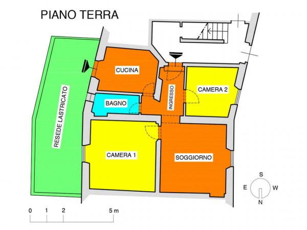 Appartamento in vendita a Firenze, Con giardino, 77 mq - Foto 4