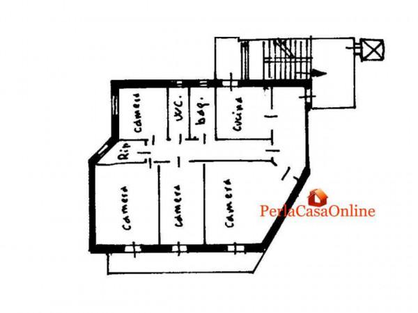 Appartamento in vendita a Forlì, Medaglie D'oro, 130 mq - Foto 4