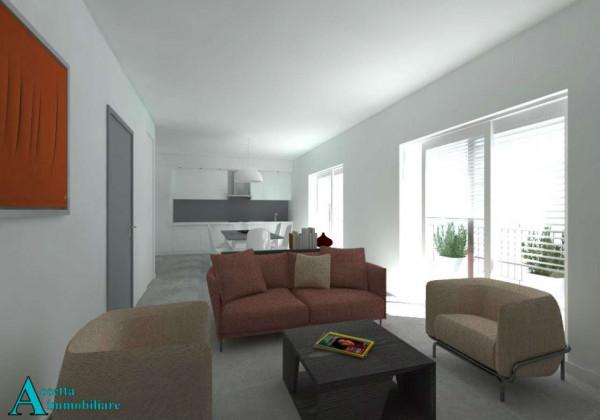 Appartamento in vendita a Taranto, Centrale, Borgo, 85 mq