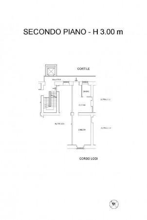 Appartamento in affitto a Milano, Medaglie D'oro, Arredato, 45 mq - Foto 2