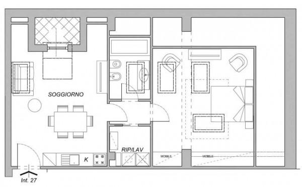 Appartamento in vendita a Chiavari, Centro Storico, 78 mq - Foto 2