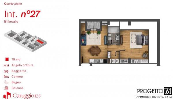 Appartamento in vendita a Chiavari, Centro Storico, 78 mq - Foto 3