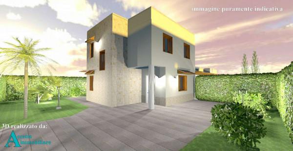 Villa in vendita a Taranto, Lama, Con giardino, 110 mq