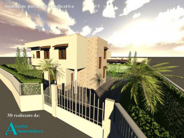 Villa in vendita a Taranto, Lama, Con giardino, 110 mq - Foto 9