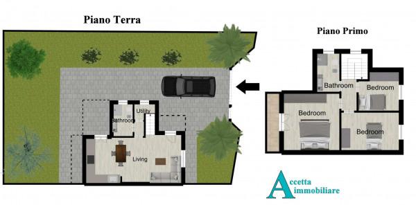 Villa in vendita a Taranto, Lama, Con giardino, 110 mq - Foto 2