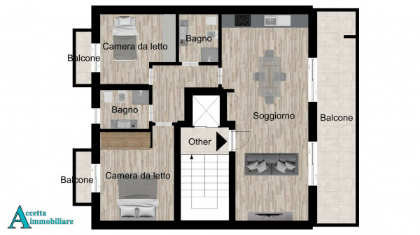Appartamento in vendita a Taranto, Centrale, Borgo, 85 mq - Foto 2