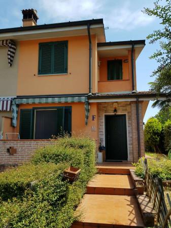 Villa in vendita a Chieve, Residenziale, Con giardino, 147 mq