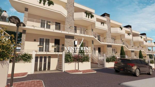 Appartamento in vendita a Roma, Valle Muricana, Con giardino, 90 mq