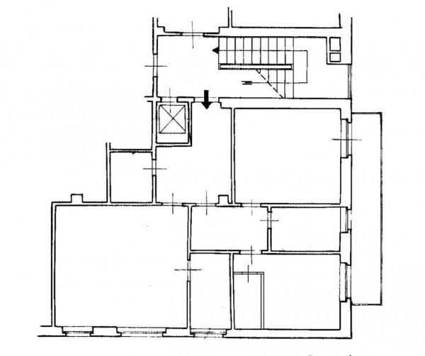 Appartamento in affitto a Milano, Missori, 90 mq - Foto 2
