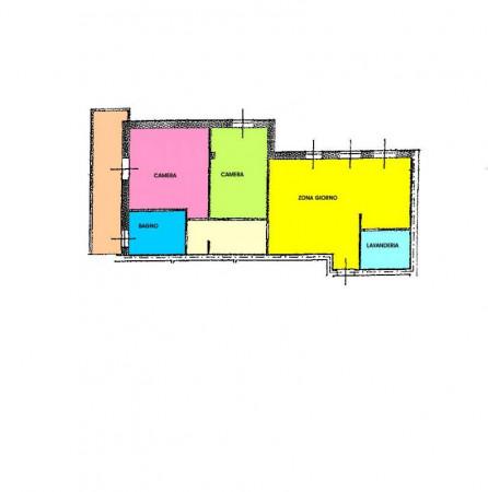 Appartamento in vendita a Trescore Cremasco, Residenziale, Con giardino, 100 mq - Foto 2