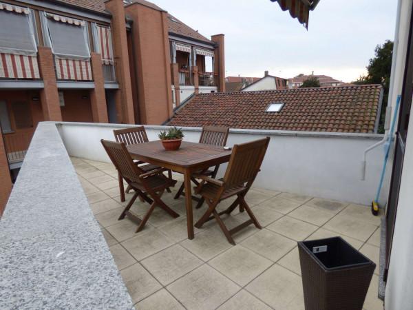 Appartamento in vendita a Borgaro Torinese, Viale Martiri, Con giardino, 105 mq - Foto 8