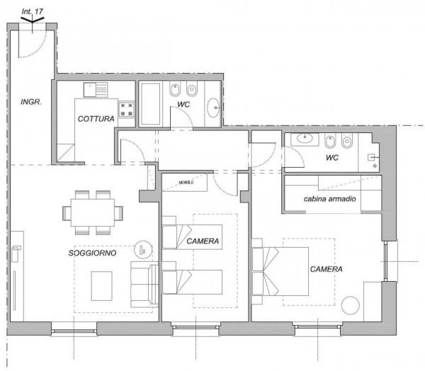 Appartamento in vendita a Chiavari, Centro Storico, 109 mq - Foto 2
