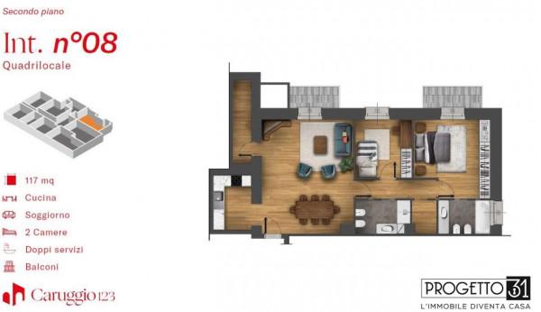 Appartamento in vendita a Chiavari, Centro Storico, 117 mq - Foto 3