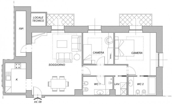 Appartamento in vendita a Chiavari, Centro Storico, 117 mq - Foto 2