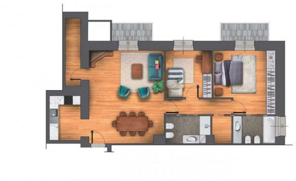 Appartamento in vendita a Chiavari, Centro Storico, 117 mq - Foto 4