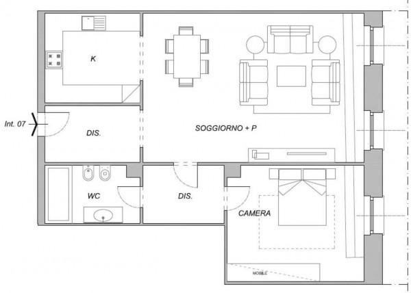 Appartamento in vendita a Chiavari, Centro Storico, Con giardino, 102 mq - Foto 2