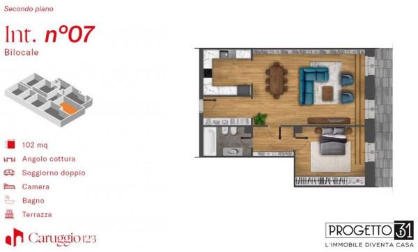 Appartamento in vendita a Chiavari, Centro Storico, Con giardino, 102 mq - Foto 3
