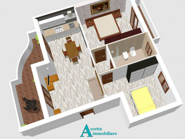 Appartamento in vendita a Taranto, Residenziale, 65 mq - Foto 5