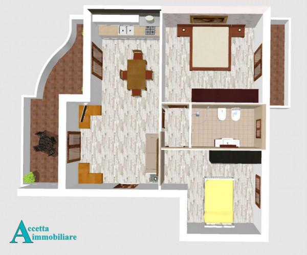 Appartamento in vendita a Taranto, Residenziale, 65 mq - Foto 4
