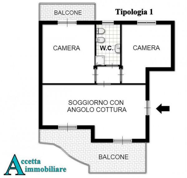 Appartamento in vendita a Taranto, Residenziale, 65 mq - Foto 2