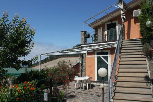 Casa indipendente in vendita a Bonassola, Fornello, Arredato, con giardino, 135 mq - Foto 1
