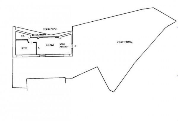 Casa indipendente in vendita a Bonassola, Fornello, Arredato, con giardino, 135 mq - Foto 16