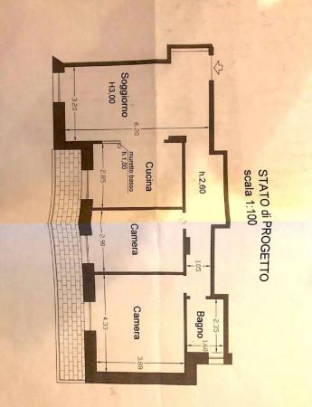 Appartamento in vendita a Genova, Sestri Ponente, 90 mq - Foto 2