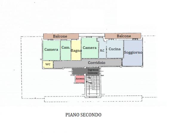 Appartamento in vendita a Spoleto, S.giovanni Di Baiano, 105 mq - Foto 25